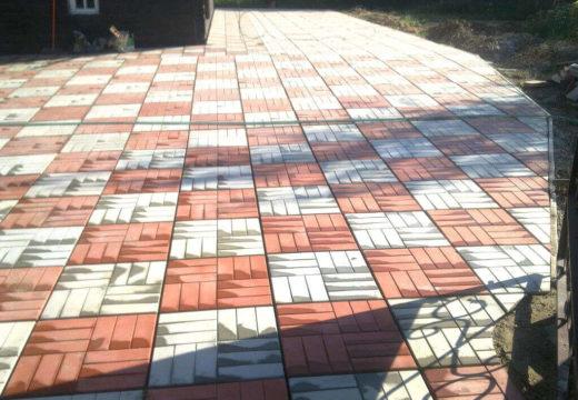Особенности вибролитной тротуарной плитки